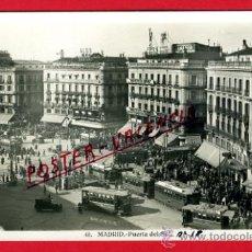 Postales: POSTAL, MADRID, PUERTA DEL SOL, FOTOGRAFICA, P70136. Lote 32382393