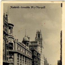 Postales: MADRID - POSTAL AVENIDA PI Y MARGALL. Lote 32428062