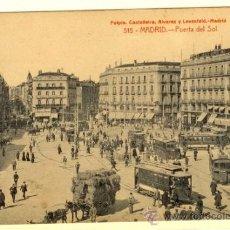 Postales: MADRID - POSTAL PUERTA DEL SOL. Lote 32428309