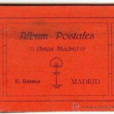 Postales: MADRID - LIBRITO BLOC DE POSTALES VISTAS DE MADRID - E.RAMOS. Lote 32428358