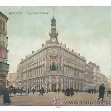 Postales: MADRID. LA EQUITATIVA. (). Lote 32530772