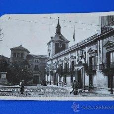 Postales: POSTAL DE MADRID: PLAZA DE LA VILLA. Lote 32461078