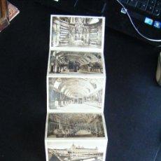 Postales: DESPLEGABLE 6 POSTALES MONASTERIO DEL ESCORIAL, FOTO L. ROISIN. MADRID.. Lote 32547095
