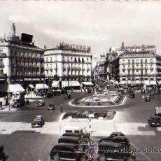 Postales: MADRID Nº 252 PUERTA DEL SOL GARCIA GARRABELLA Y CIA POSTAL FOTOGRÁFICA CIRCULADA ESCRITA . Lote 32792537