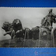 Postales: ANTIGUA POSTAL DE MADRID FUENTE DE LA CIBELES SIN CIRCULAR NUEVA DÉCADA 40 Ó 50 E. GARCÍA GARRABELLA. Lote 32818127