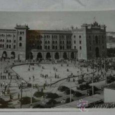 Postales: ANTIGUA FOTOGRAFIA DE MADRID, PLAZA DE TOROS LAS VENTAS, AÑOS 40-50, MUY GRANDE, MIDE 28,5 X 15,5 CM. Lote 32873860