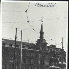 Postales: MADRID.- PLAZA MAYOR LEVANTADA -AÑO 1939 (FOTO DUERO). Lote 33060723