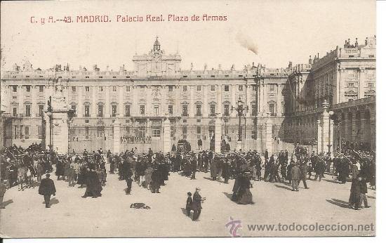 MADRID (Postales - España - Comunidad de Madrid Antigua (hasta 1939))