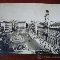 Postales: MADRID 124, PUERTA DEL SOL. Lote 33217194