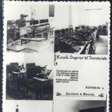 Postales: MADRID.- ESCUELA SUPERIOR DEL SECRETARIADO. Lote 33247967
