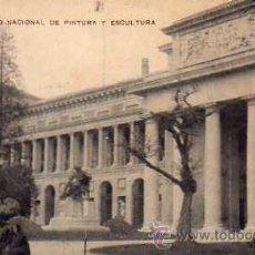 Postales: MADRID MUSEO NACIONAL DE PINTURA Y ESCULTURA ESCRITA CIRCULADA SELLO. Lote 33491950
