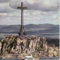 Postales: SANTA CRUZ DEL VALLE DE LOS CAÍDOS. VISTA DE LA PARTE POSTERIOR. MADRID. ESPAÑA. COLECCIONISMO. Lote 33498043