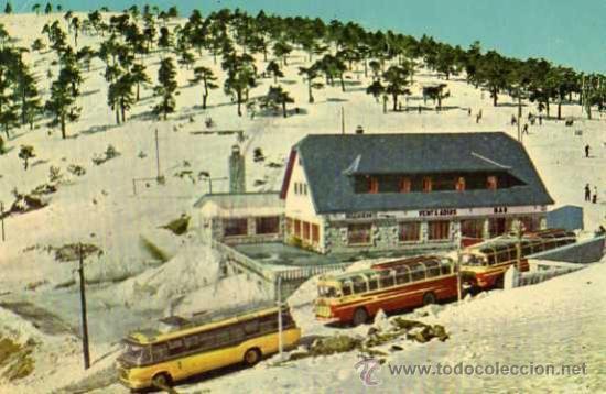 PUERTO DE NAVACERRADA VENTA ARIAS ESCRITA CIRCULADA SELLO AÑO 1960 (Postales - España - Madrid Moderna (desde 1940))