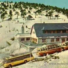 Postales: PUERTO DE NAVACERRADA VENTA ARIAS ESCRITA CIRCULADA SELLO AÑO 1960. Lote 33539331