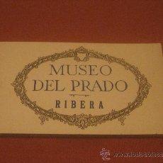 Postales: BLOC DE POSTALES DE MUSEO DEL PRADO RIBERA. Lote 33668844