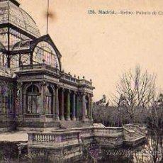 Postales: MADRID Nº 126 RETIRO PALACIO DE CRISTAL J. LACOSTE SIN CIRCULAR . Lote 33714861