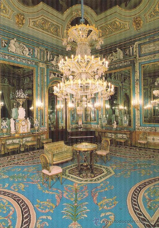Palacio real de madrid sal n de espejos real comprar for Salon de espejos