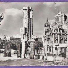 Postales: MADRID - PLAZA DE ESPAÑA - Nº 67 - ED. HELIOTIPIA ARTISTICA - CIRCULADA - AÑO 1959 - X. Lote 33968736