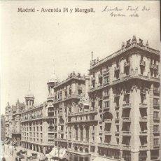 Postales: MADRID AVENIDA DE PI Y MARGALL SIN ESCRIBIR. Lote 34262012