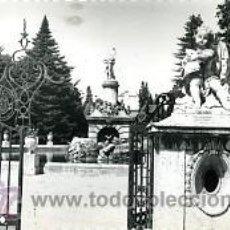 Postales: ARANJUEZ (MADRID).- ENTRADA AL JARDIN DE LA ISLA.- EDICIONES DARVI Nº 11. FOTOGAFICA.. Lote 34340353