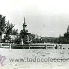 Postales: ARANJUEZ (MADRID).- PLAZA DE SAN ANTONIO Y FUENTE DE LA MARIBLANCA.- EDIC. DARVI Nº 26. FOTOGAFICA.. Lote 34347891