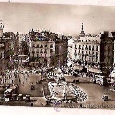 Postales: ANTIGUA POSTAL 108 MADRID PUERTA DEL SOL A ZERKOWITZ. Lote 34486727
