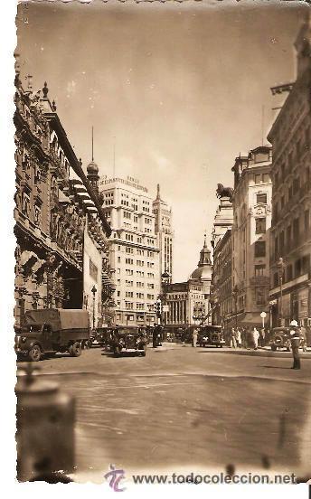POSTAL DE MADRID Nº 15 CALLE DE SEVILLA , EDICIONES ARRIBAS ZARAGOZA (Postales - España - Comunidad de Madrid Antigua (hasta 1939))