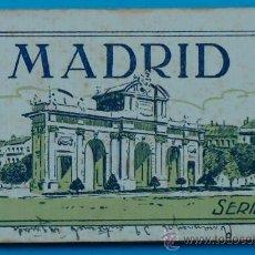 Postales: BLOC POSTAL. MADRID. 2ª SERIE. 15 POSTALES. GRAFOS.. Lote 34919027