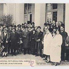 Postales: MADRID. ESCUELA NACIONAL DE PUERICULTURA. VISITA DE AUTORIDADES. FOTOTIPIA HAUSER Y MENET.. Lote 35060638