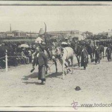 Postales: MADRID.- AÑO 1902- FERIA DE CABALLOS SAN ANTONIO DE LA FLORIDA . Lote 35126918