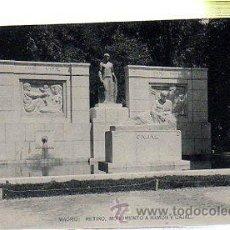 Postales: TARJETA POSTAL DE MADRID - RETIRO: MONUMENTO A RAMON Y CAJAL. HAUSER Y MENET. Lote 241311450