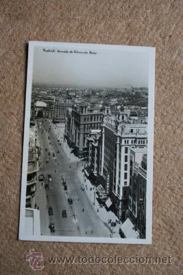 POSTAL. MADRID. AVENIDA DE EDUARDO DATO. (Postales - España - Madrid Moderna (desde 1940))