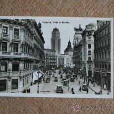 Postales: POSTAL. MADRID. CALLE DE SEVILLA. MADRID, G.H. ALSINA.. Lote 35398465