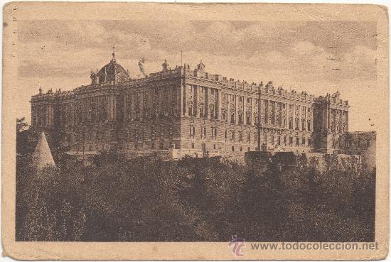 MADRID.- PALACIO NACIONAL. (C.1930). (Postales - España - Comunidad de Madrid Antigua (hasta 1939))