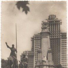 Postales: MADRID.- MONUMENTO A CERVANTES.. Lote 35474515