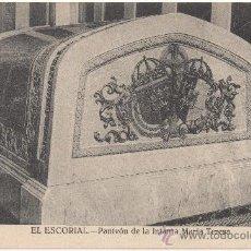 Postales: EL ESCORIAL.- PANTEÓN DE LA INFANTA MARÍA TERESA.. Lote 35475571