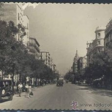 Postales: MADRID.- CALLES DE NARVAEZ Y CONDE DE PEÑALVER. Lote 35512045