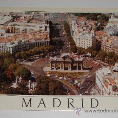 Postales: POSTAL DE MADRID PUERTA DE ALCALÁ 1990. Lote 35513898