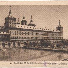 Postales: SAN LORENZO DE EL ESCORIAL.- ESTANQUE DE LA HUERTA.. Lote 35554706