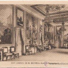 Postales: SAN LORENZO DE EL ESCORIAL.- SALÓN DE EMBAJADORES.. Lote 35557058