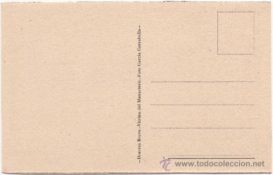 Postales: SAN LORENZO DE EL ESCORIAL.- MONASTERIO. HABITACIÓN DE LA INFANTA ISABEL CLARA EUGENIA. - Foto 2 - 35557744