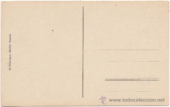 Postales: EL ESCORIAL.- EL DESCENDIMIENTO (VAN DER WEYDEN). - Foto 2 - 35558319