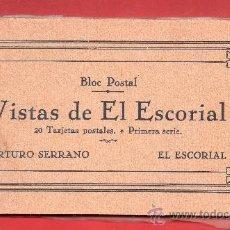 Postales: - 9557 BONITO LOTE DE VENTE POSTAL DE ESCORIAL EDI. HIJOS SERRANO VER FOTOS ADICIONALES SIN CIRCULAR. Lote 35561827