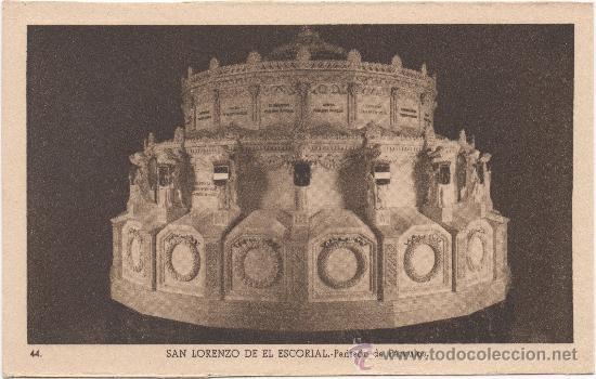SAN LORENZO DE EL ESCORIAL.- PANTEÓN DE PÁRVULOS. (Postales - España - Comunidad de Madrid Antigua (hasta 1939))
