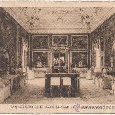 Postales: SAN LORENZO DE EL ESCORIAL.- CASITA DEL PRÍNCIPE. COMEDOR.. Lote 35588626