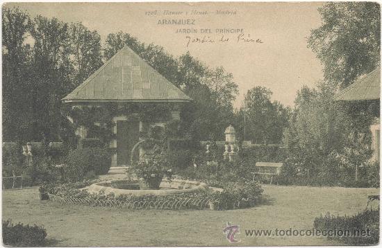 ARANJUEZ.- JARDÍN DEL PRÍNCIPE. (Postales - España - Comunidad de Madrid Antigua (hasta 1939))