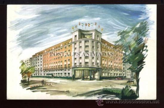 (A01027) MADRID - HOTEL CASTELLANA HILTON (Postales - España - Comunidad de Madrid Antigua (hasta 1939))