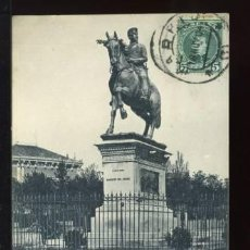 Postales: (A01035) MADRID - MONUMENTO DEL MARQUES DEL DUERO - HAUSER Y MENET Nº91. Lote 35700904