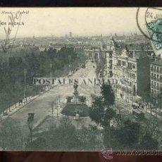Postales: (A01073) MADRID - CALLE DE ALCALA - HAUSER Y MENET Nº2088. Lote 35701271