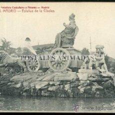 Postales: (A01074) MADRID - ESTATUA DE LA CIBELES - CASTEÑEIRA Nº566. Lote 35701274